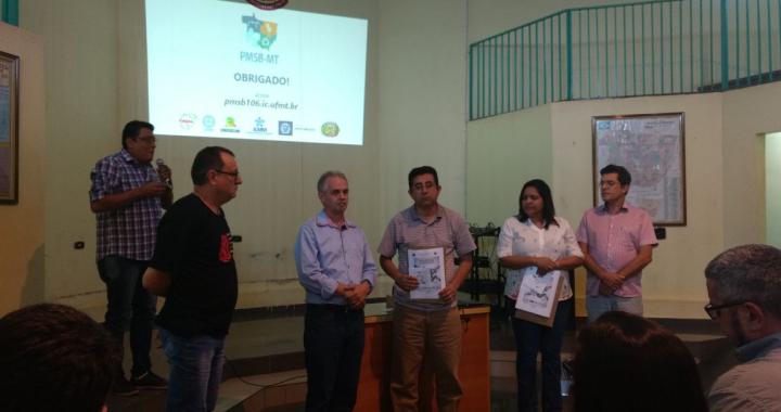 Conclusão do projeto de Saneamento Básico é debatido em audiência publica em Juína
