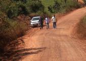 Delfam faz vistoria para liberação de licença ambiental em estrada de acesso ao IFMT