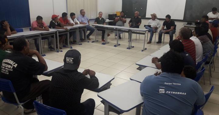 Prefeito Altir Peruzzo se reúne com lideranças indígenas da etnia Cinta Larga