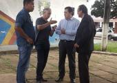 Deputado Sebastião Rezende visita Juína e reafirma compromissos assumidos para reforma da Praça da Bíblia