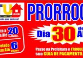 IPTU 2018 é prorrogado até o dia 30 de abril