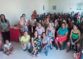 Mães do bairro São José Operário são homenageadas pela equipe de Saúde do PSF local