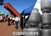 Desabastecimento de gás em Juína  preocupa prefeito Altir Peruzzo