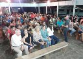 Vídeo - Prefeito Altir Peruzzo se reúne com moradores para discutir sobre asfaltamento de ruas no Módulo 05