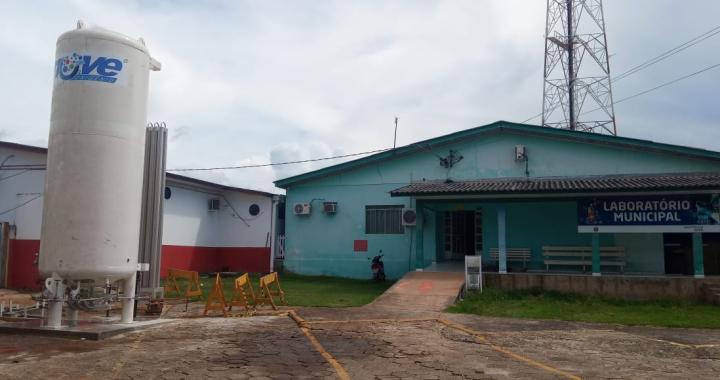 PREFEITURA DE JUÍNA INVESTE EM RESERVATÓRIO DE OXIGÊNIO