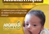 AGOSTO DOURADO - SECRETARIA DE SAÚDE INTENSIFICA CAMPANHA DE ALEITAMENTO MATERNO EM JUÍNA