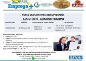 OPORTUNIDADE: Curso gratuito de Assistente Administrativo