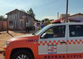 Equipes da Prefeitura trabalham com auxílio da Defesa Civil para minimizar estragos causados pela chuva